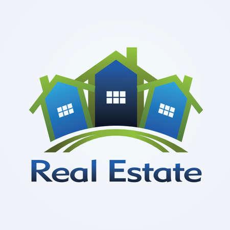 Immobilien Konzeption Standard-Bild - 11397727