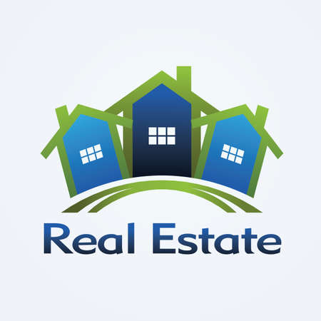 Real Estate concept design Vector