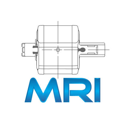MRI equipment Vector