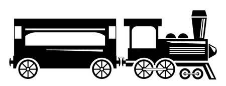 express train: Treno Vettoriali