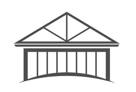 House framing Stock Vector - 12508279