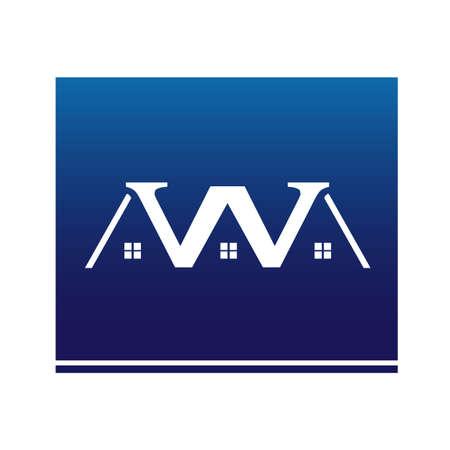 W house Stock Vector - 12508271