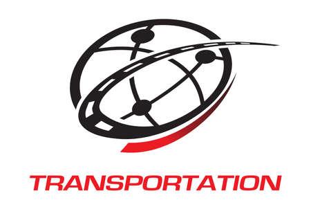 전송 로고