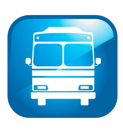 button front: Bus icon