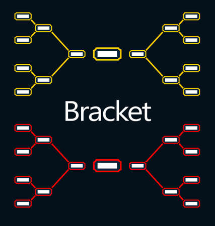playoff: Bracket Illustration