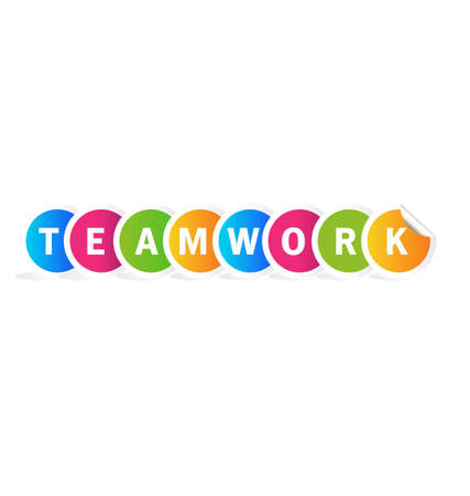 Teamwork word