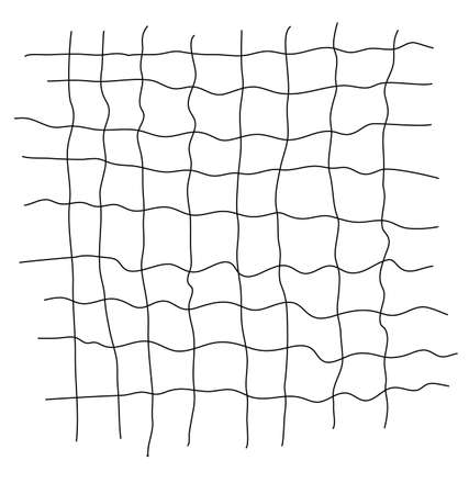 Grid Scribble Abstract Stock Vector - 13785079