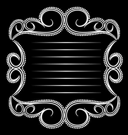 Emblème Glamour Banque d'images - 13797283