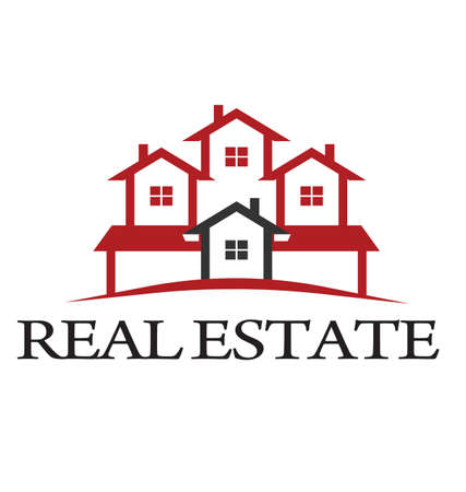 Logo  Real Estate concept  Vector
