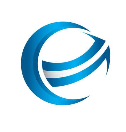 3D global arrow