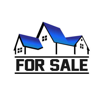 For Sale House Stock Vector - 16052364