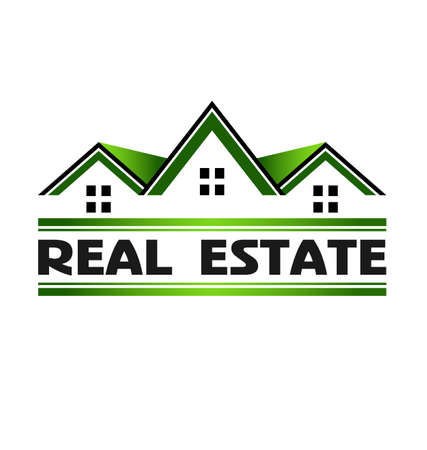 estate: Real Estate green Illustration
