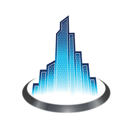Skyscraper icon Stock Vector - 16052383
