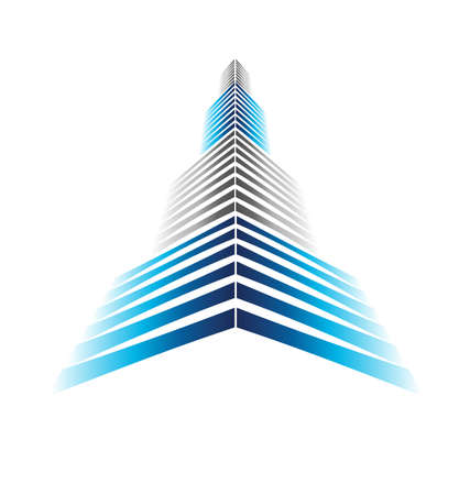 built tower: Skyscraper Icon