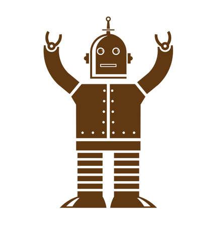Robot Stock Vector - 16904872