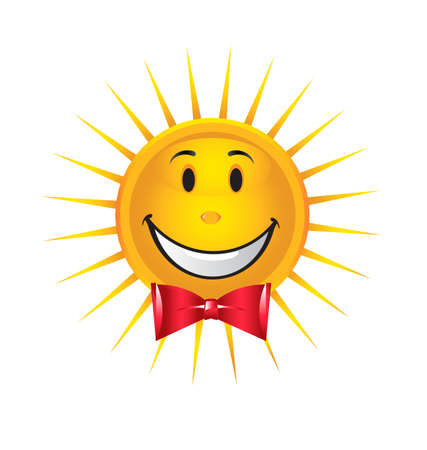 Happy Sun Stock Vector - 16906061