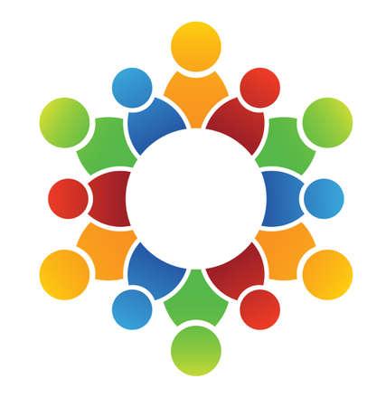 Cercle de famille Banque d'images - 17725359