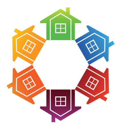 Housing Market Stock Vector - 17725361