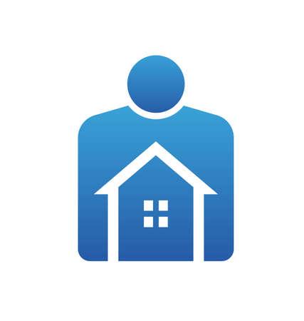 home owner: Home Owner Illustration
