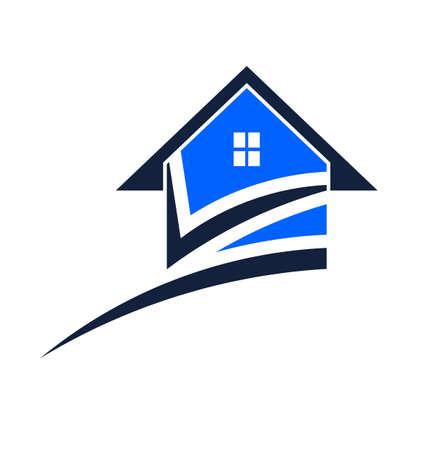 House swoosh Stock Vector - 18222759