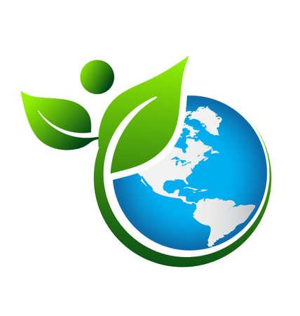 녹색 지구 스톡 콘텐츠 - 18253660