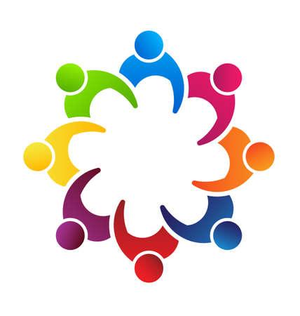 corporate social: Riunione di persone