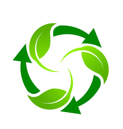 Green Recycle Stock Vector - 18840546
