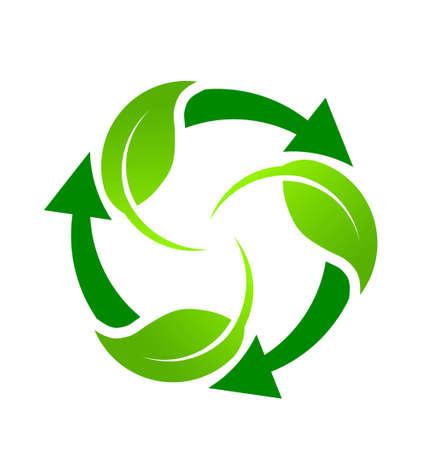 Green Recycle Standard-Bild - 18840546