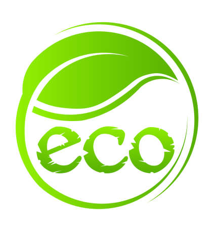 Eco Green Seal Standard-Bild - 18840550