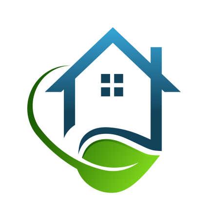 Eco house green Stock Vector - 18879380