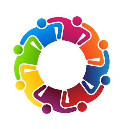 solidaridad: Trabajo en equipo Abrazos 8