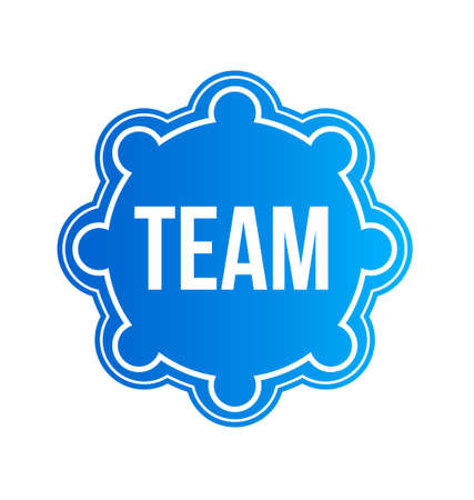Team Seal Vector Design Element