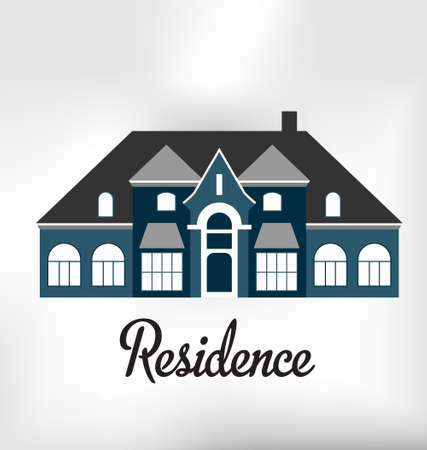 Residence Vintage Stock Vector - 20873700