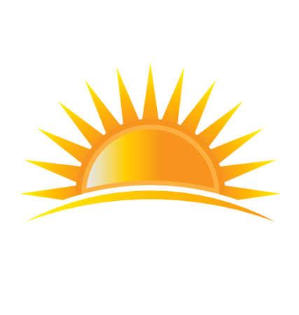 luz do sol: Poder Sun Ilustração
