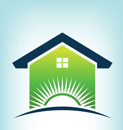 house logo: Solar House Logo