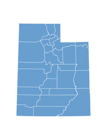 Utah State by counties