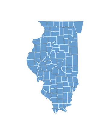 Illinois State dalle contee
