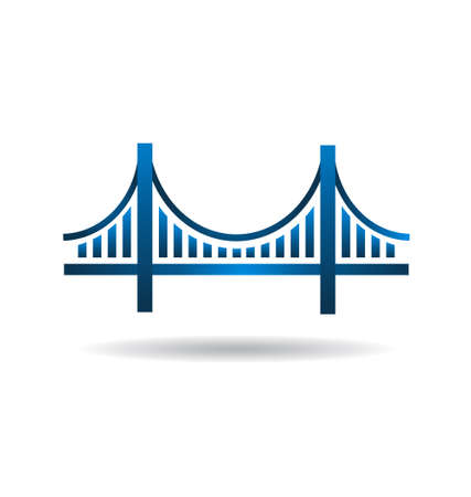 bridges: Blue Bridge Icon