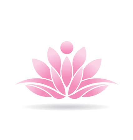 Lotusbloem Icoon Stockfoto - 24475663