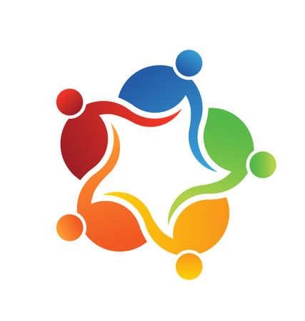 Icon Team Logo 5 Stock Vector - 24475669