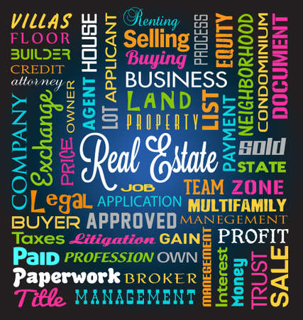 Vector Real Estate Theme Vector
