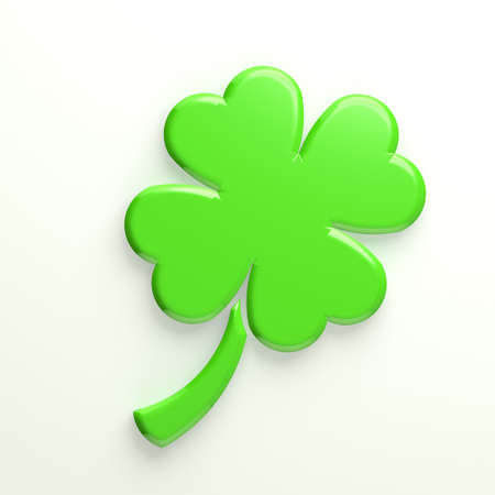 Clover with four leaves Stock Photo - 25103057