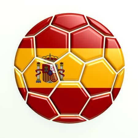 Spain Soccer Ball photo