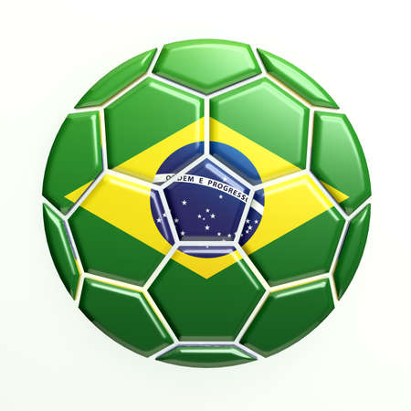 Brazil Soccer Ball photo