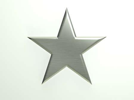 platinum: Platinum textured star icon