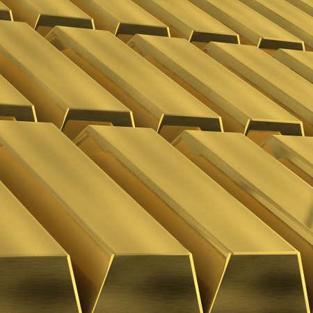 Gold Bars background photo