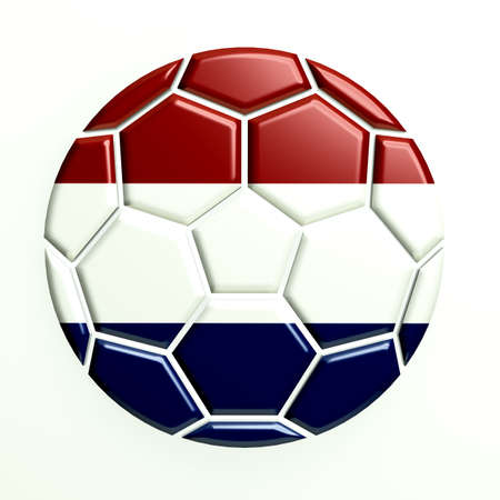 the netherlands: Netherlands Soccer Ball Icon