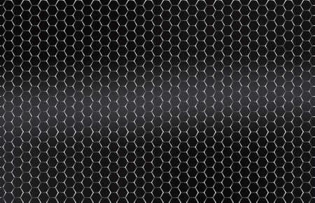 platina: Naadloze vector metalen rooster zilver, platina