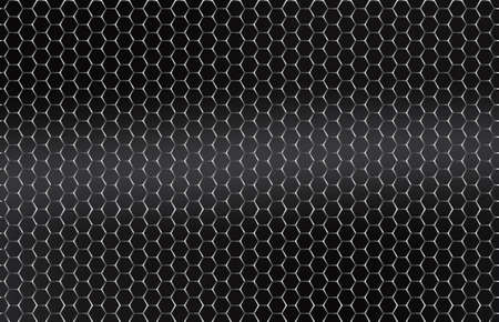 Seamless vector metal grid  Silver, Platinum Vector