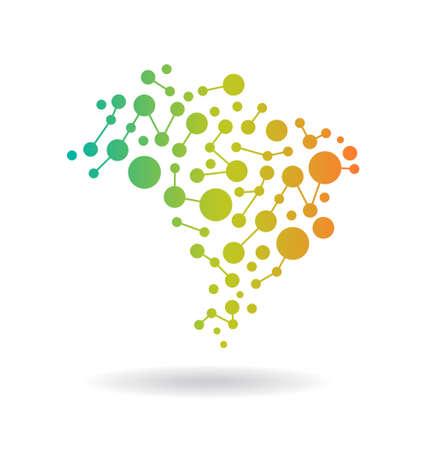 brasil: Brasil Networking Map